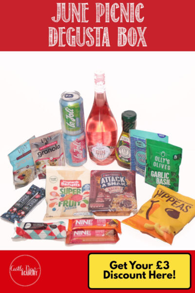 June Picnic Degusta Box Reviewed by Castle View Academy
