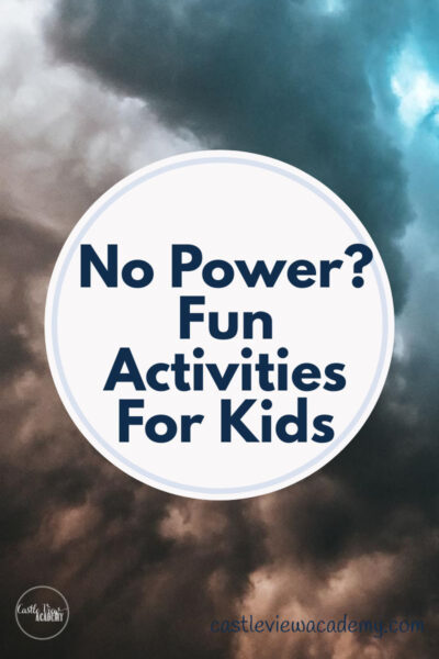 No Power - Fun Activities for Kids