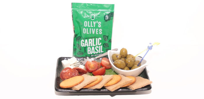 Olly's Olives Basil & Garlic in the Picnic Degusta Box