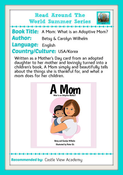 RATW A Mom by Betsy and Carolyn Wilhelm