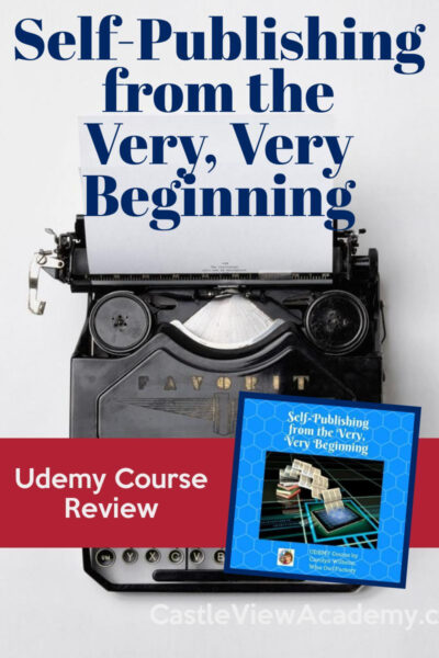 Udemy Review - Self-Publishing From The Very Very Beginning