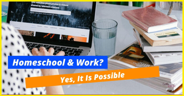 home ed and work is possible