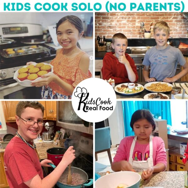Children's cooking solo