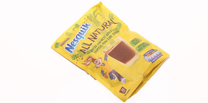 Nesquick milkshake powder
