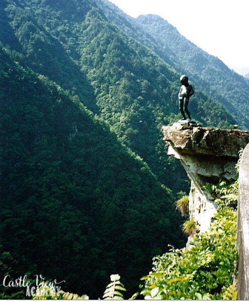 Pissing Boy Statue, Japan