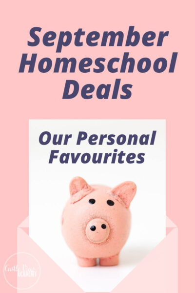 September Homeschool Offers