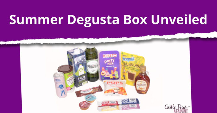 Summer Degusta Box Unveiled at Castle View Academy