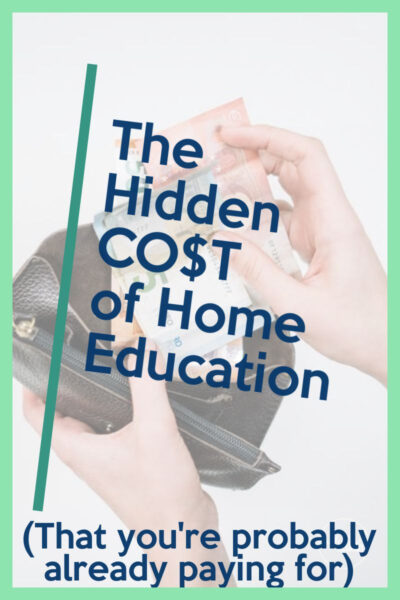 The Hidden CO$T of home education