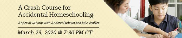 Crash course for homeschooling