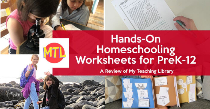 Hands on homeschoolig worksheets for PreK-12