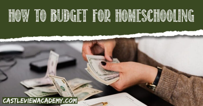 How to budget-for homeschool