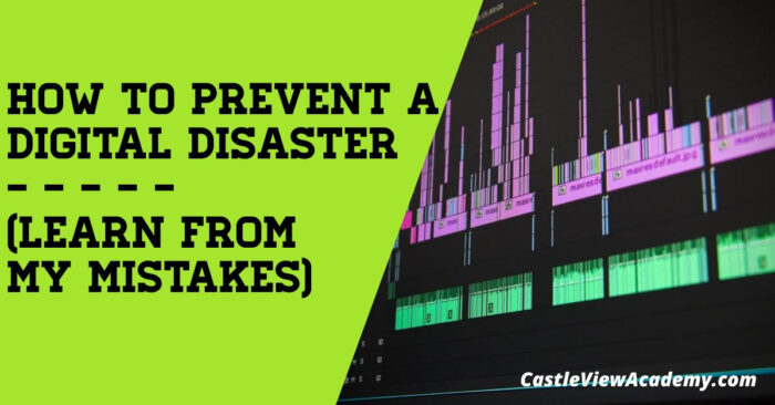 How to prevent a digital disasterHow to prevent a digital disaster