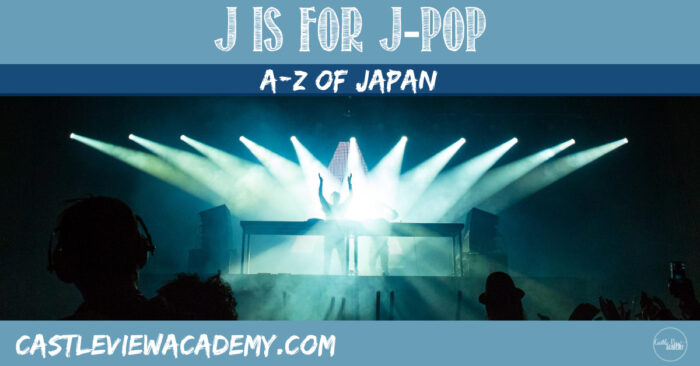 J is for J-Pop