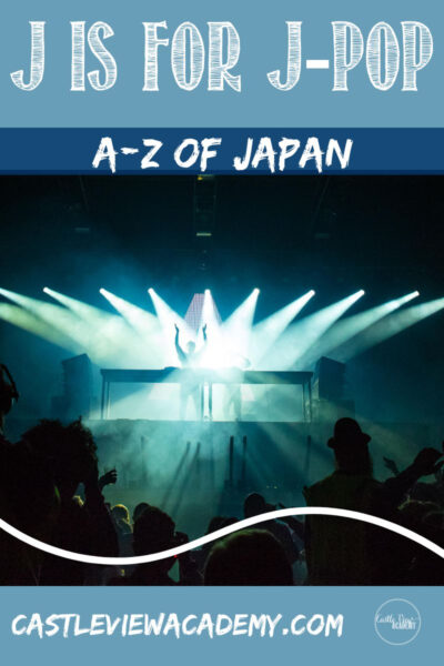 J is for J-Pop A-Z of Japan