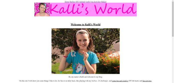 Kalli's World
