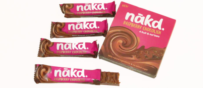 Nakd Drizzled Chocolish Bars Multipack