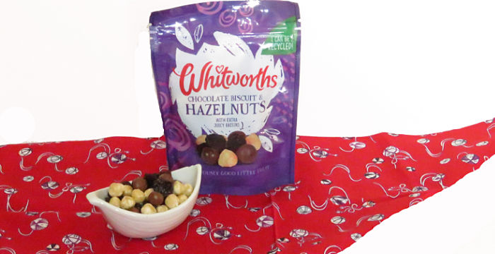 Whitworths Chocolate Biscuit & Hazelnut Treat Mix