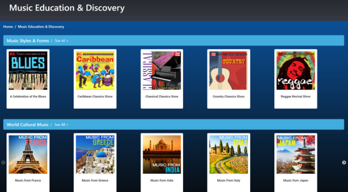 Music Education and Discovery