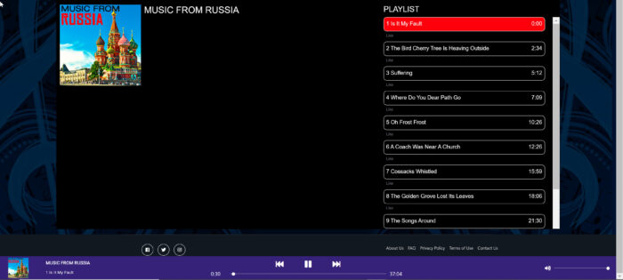Music from Russia