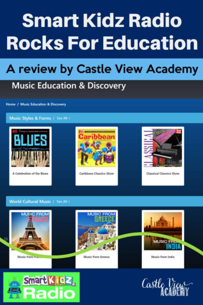 Smart Kidz Radio Reviewed by Castle View Academy homeschool