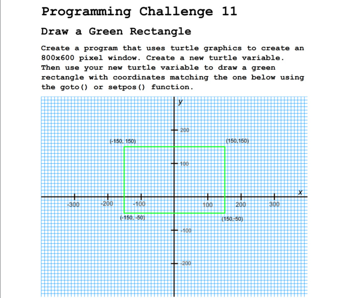Coding challenges