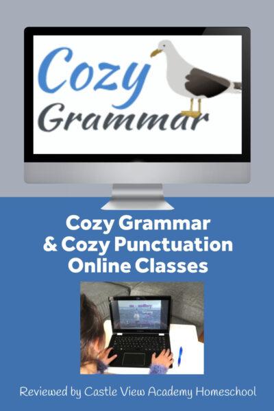 Cozy Grammar Online Class Reviewed by Castle View Academy homeschool