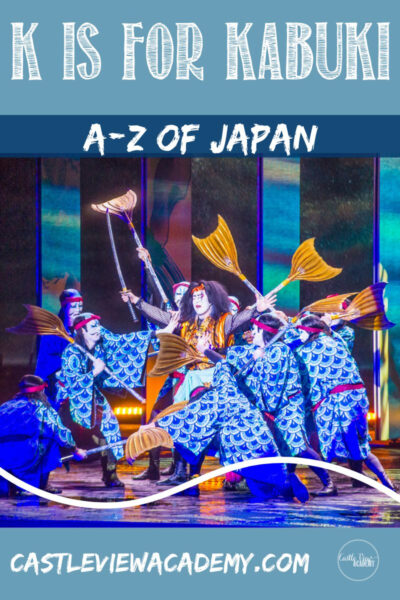 K is for Kabuki - A-Z of Japan