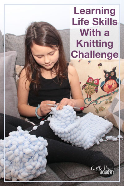 Learning Life Skills With a Knitting Challenge