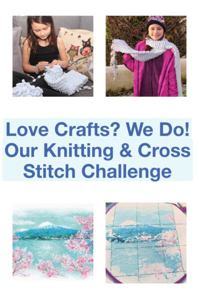 Love Crafts? We Do! Our Knitting and Cross Stitch Challenge