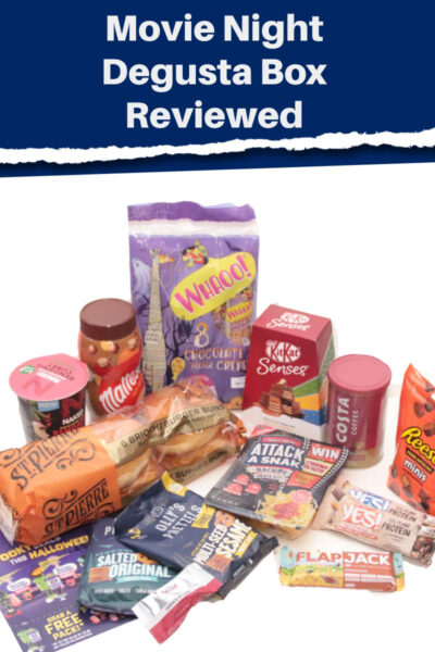 Movie Night Degusta Box Contents reviewed by Castle View Academy