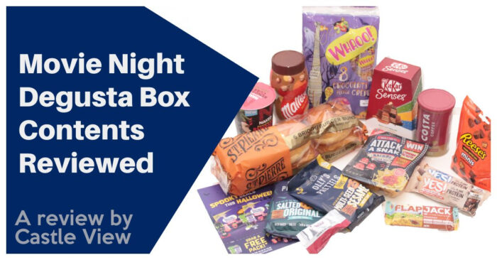 Movie Night Degusta Box Contents reviewed by Castle View Academy Homeschool