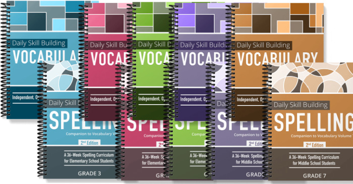 Spelling and Vocab bundles