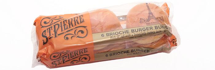 St. Pierre Brioche Burger Buns