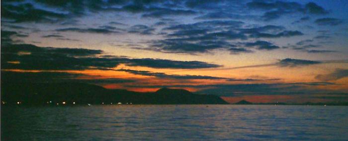 Sunset from Shikoku