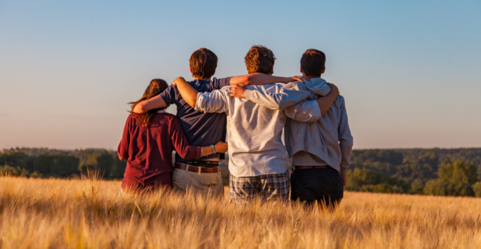 Finding joy by surrounding yourself with the right people in hard times