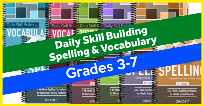 Vocabulary and Spelling for Homeschoolers