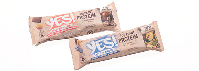 Yes! Plant protein bars