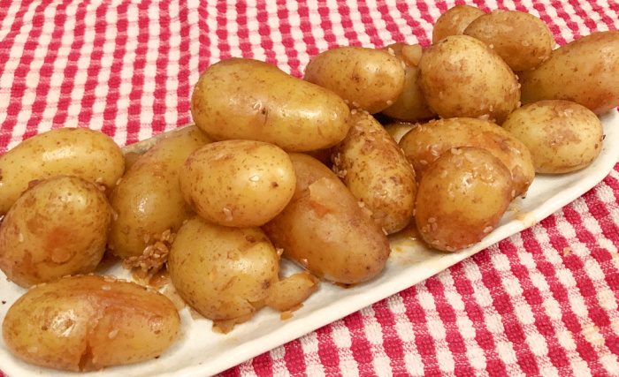 Braised Baby Potatoes