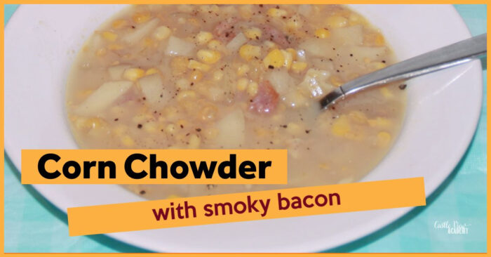 Easy Smoky Corn Chowder