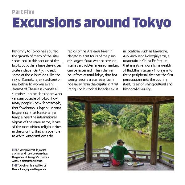 Excursions around Tokyo