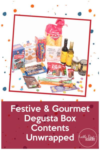 Festive & Gourmet Degusta Box, November 2020