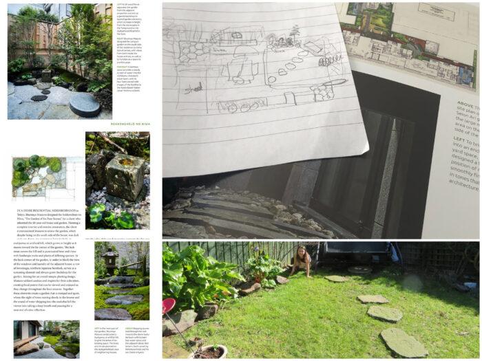 Garden plans in dream mode