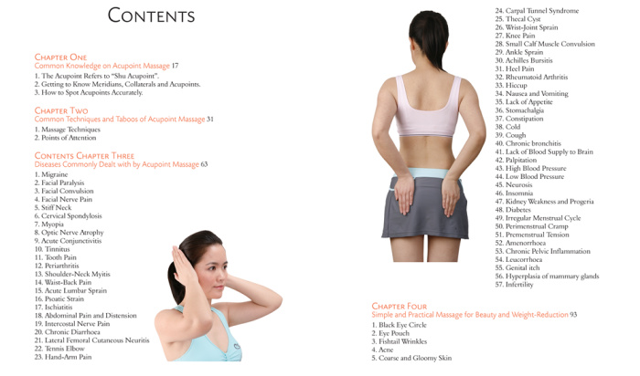 Illnesses that work with Self-Massage