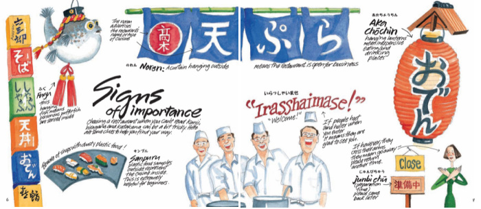Japanese signs of importance