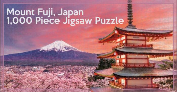 Mount Fuji, Japan, 1000 piece Puzzle