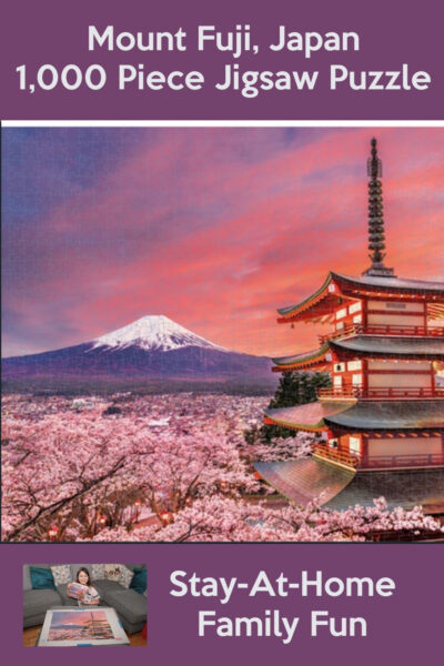 Mount Fuji, Japan, Jigsaw Puzzle