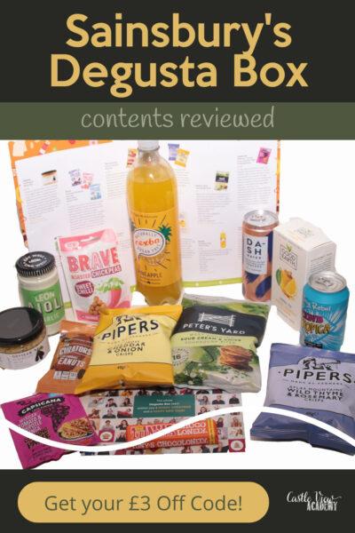 Sainsbury's Degusta Box contents reviewed