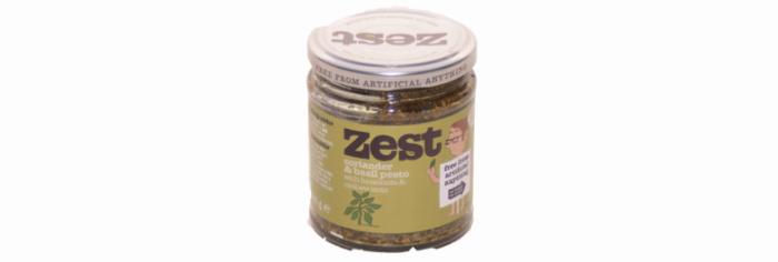 Zest Vegan Coriander & Basil Pesto