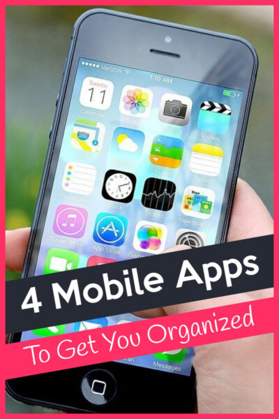 4 Mobile Apps To Get You Organised