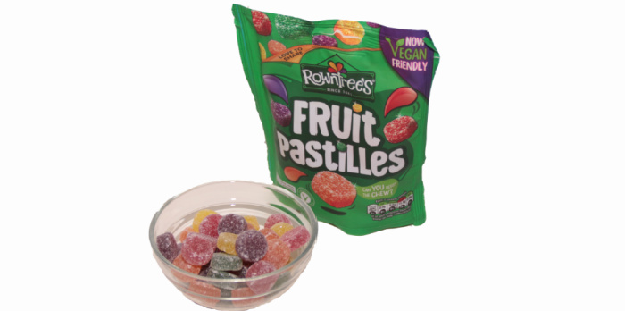 Rowntrees Fruit Pastilles Vegan Sharing Pouch